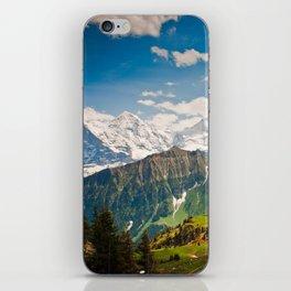 berner oberland, switzerland iPhone Skin