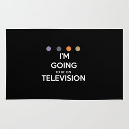 Requiem For A Dream - I'm Going To Be On Television Rug
