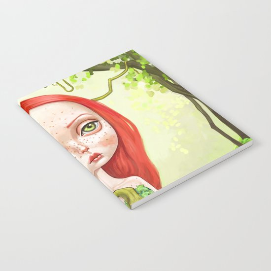Poison Ivy Notebook