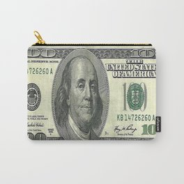 Decorative American Hundred Dollars Art Abstract By Sharles. Carry-All Pouch