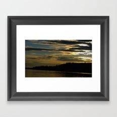sundown;3 Framed Art Print