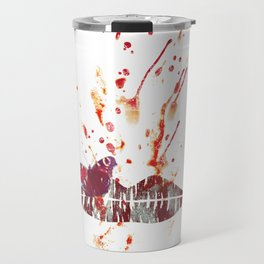 Bloody Lips Travel Mug