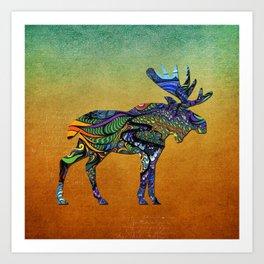Designer Moose * Art Print