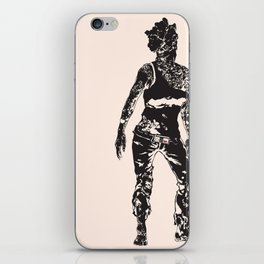 The PAX of Us Black iPhone Skin