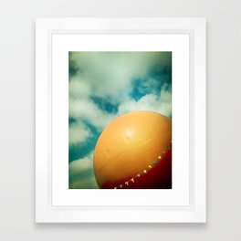 Orange Julep Framed Art Print