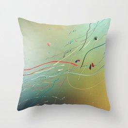 The Man Grows Throw Pillow