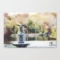 autumn in new york Canvas Print