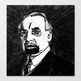 29. Zombie Warren G. Harding  Canvas Print