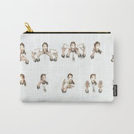 Sign Language Illustration Carry-All Pouch