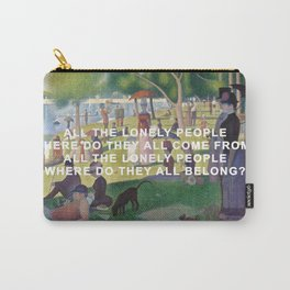 A Sunday Afternoon with Eleanor Rigby Carry-All Pouch