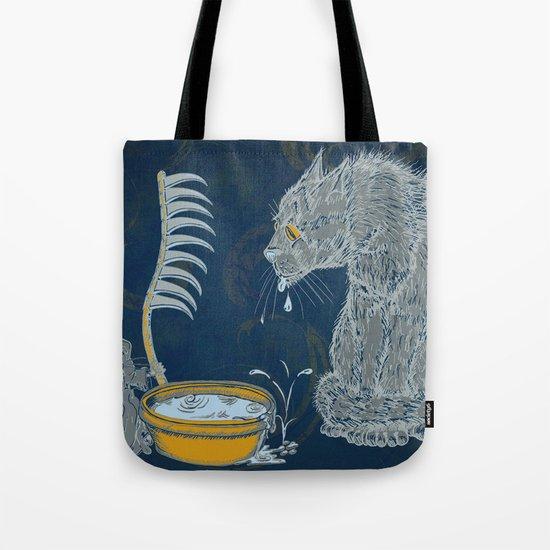 Vision of the Ninth Life Tote Bag