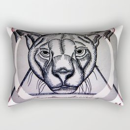 Jungla de Cemento Rectangular Pillow