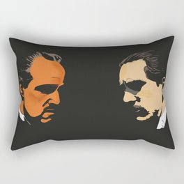 Vito Corleone - The Godfather Part I Rectangular Pillow