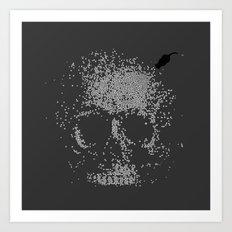 Sign of Death Art Print
