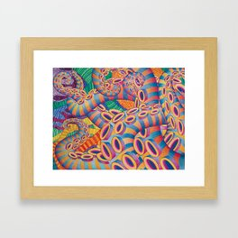 Tentaculon 2 Framed Art Print