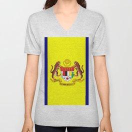 flag of putrajaya Unisex V-Neck