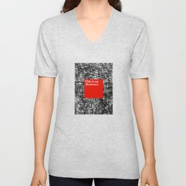 ABSTRACT CERTIFIED Unisex V-Neck