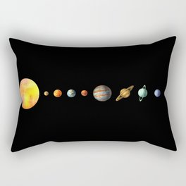 The Solar System Rectangular Pillow