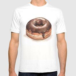 Chocolate Glazed Donut T-shirt