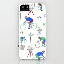 Race Riding  iPhone Case