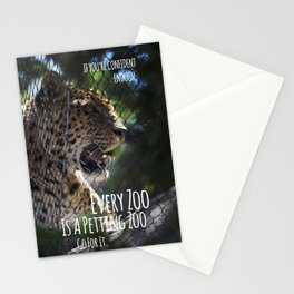 Every Zoo is a Petting Zoo Stationery Cards