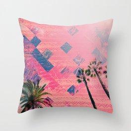 NL 4 2 Palm Trees Throw Pillow