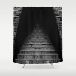 The Exorcist steps Shower Curtain