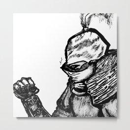 Vuldric The Knight Metal Print