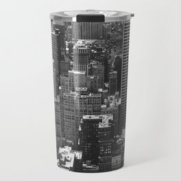 New York Buildings Travel Mug
