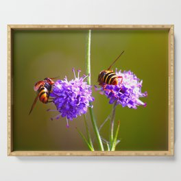 Round And Round - Busy Bees Serving Tray
