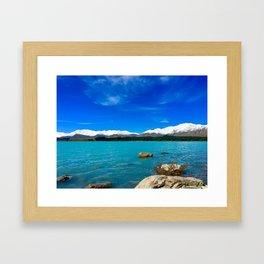 Lake Tekapo Framed Art Print