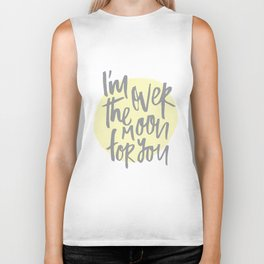 I'm Over the Moon for You Biker Tank