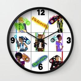 Burners Together Wall Clock