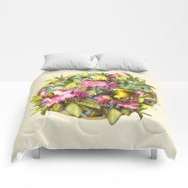 Flowers and Birds 1 Comforters