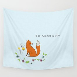 Best wishes to you Wall Tapestry