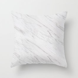 A Marble Throw Pillow