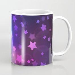 Mystical Magenta Star Galaxy Coffee Mug
