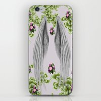 angel wings iPhone & iPod Skins featuring angel wings by karens designs
