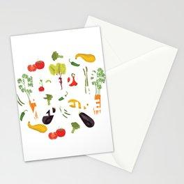 Let Food Be Your Medicine Veganism Vegan Lifestyle Stationery Cards