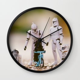 Dark Early works Wall Clock