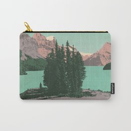 Jasper National Park Poster Carry-All Pouch