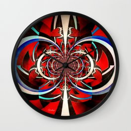 Neverending Future Wall Clock