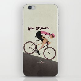 Giro D'Italia Cycling Race Italian Grand Tour iPhone Skin