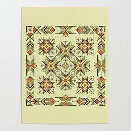 equilibrium | boho pattern Poster