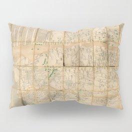 Map of China & Salt Trade Industry (1736) Pillow Sham