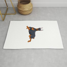 Terrier cute dog dog Rug