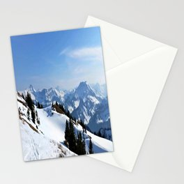 Winter Paradise in Austria Stationery Cards