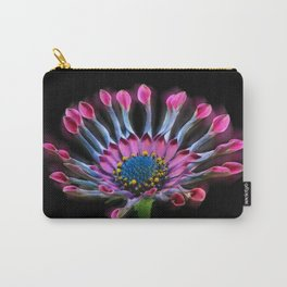 Tropical Daisy Carry-All Pouch