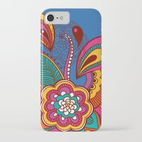 henna iPhone & iPod Cases featuring Henna Colour by nicky9