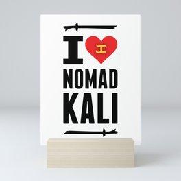 I love KALI Mini Art Print